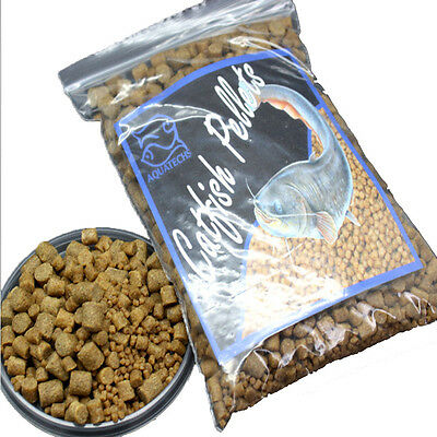 Tropical catfish pellets high protien premium 2,4,6,8mm bottom feeding sinking l