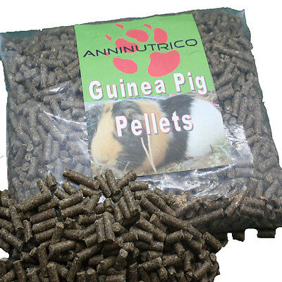 Aninutrico guinea pig food pellets 2mm or 6mm scientific diet feed pellets