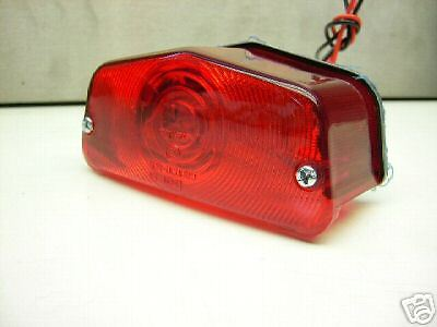 New Rear Stop Tail Light *lucas Café Racer Style* Rücklicht Xs 650 Sr 500