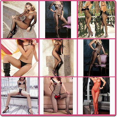 Sexy Open Crotch Fishnet Bodystocking for Honeymoon Hen Party