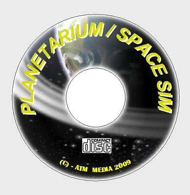 Twin Astronomy Cd, Planetarium Suite And Space Star Sim Educational Fun All Ages