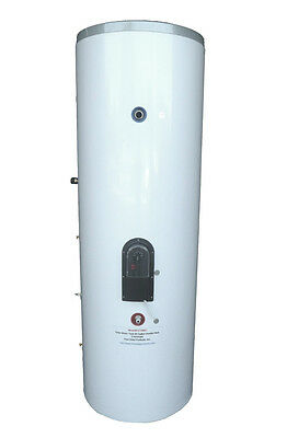 80 Gallon Solar Hot Water Tank with Double Coil/Heat Exchanger Model FST080D