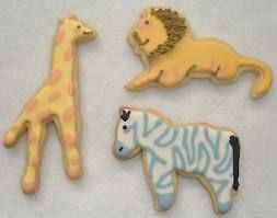 1 Zoo Giraffe  Cookie Cutter Party Food