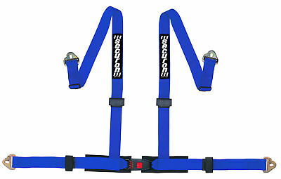 NEW Securon 655/Blue 4 Point Racing Rally Race Harness with Snap Hooks