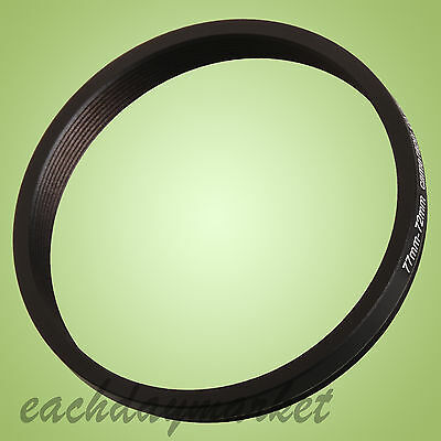 77mm to 72mm 77-72mm 77mm-72mm 77-72 Stepping Step Down Filter Ring Adapter