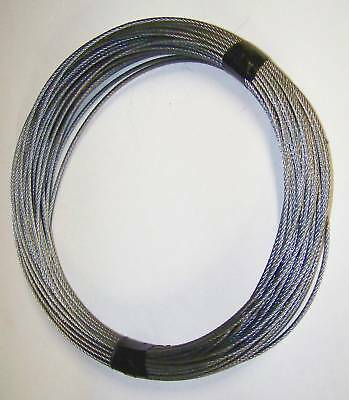Galvanized Steel Cable 1/16 - 100 Foot Roll