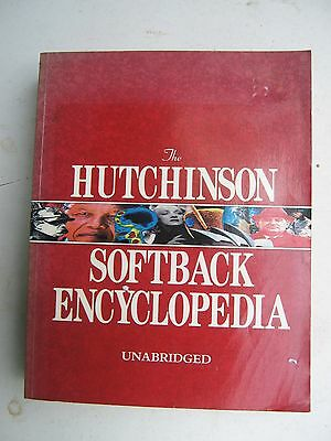 The  Hutchinson  Softback  Encyclopedia    Unabridged