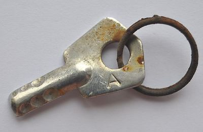 1960s USSR Russia Vintage Small Key marked A