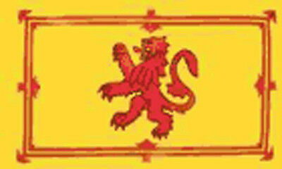 HUGE 8ft x 5ft Lion Rampant Flag Massive Giant Scotland Scottish Flags