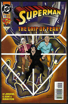 Superman The Grip Of Fear Us Dc Comic # 101/'95 !