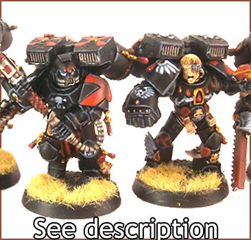 PRO PAINTED Warhammer 40k Death Company Space Marine Blood Angel