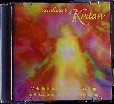 Kirtan CD-Sanskrit Mantra Chants for Meditation Relaxation Health and Wellbeing.