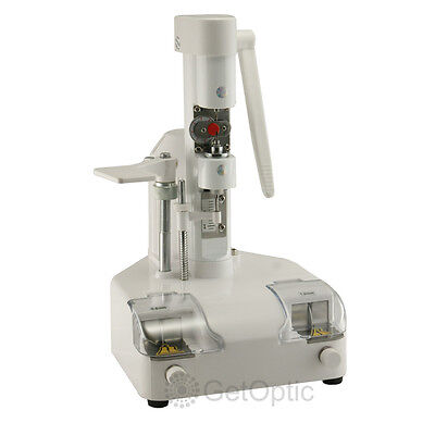 Optical Eyeglasses Lens Drilling and Groove Cutting Machine New