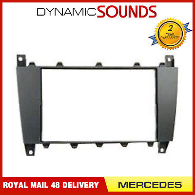 DFP-23-03 Car CD Stereo Double Din Fascia Panel Adaptor For Mercedes C W203