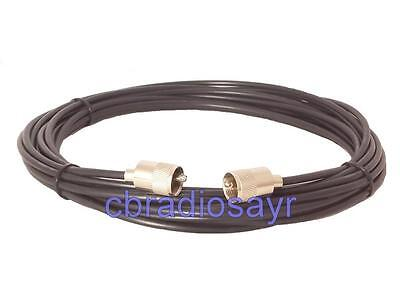 RG58 Coaxial Cable Patch Lead for CB Radio Antennas Aerials- 10 metre in Length