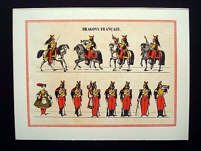 Vintage French Imagerie Pellerin d'Epinal Assorted Holiday Greeting Cards InvA