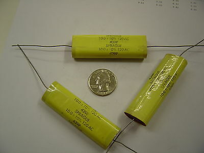 LOT OF 15 PE-2.4-100-10 F-DYNE CAPACITOR 2.4UF 100V FILM POLYESTER AXIAL