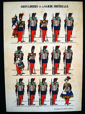 Vintage French Imagerie Pellerin d'Epinal Assorted Military Postcards InvE