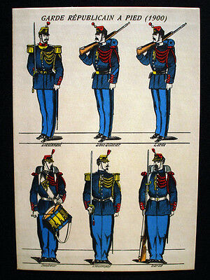 Vintage French Imagerie Pellerin d'Epinal Assorted Military Postcards InvG