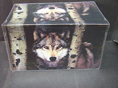 Wolf In The Timber #3  Checkbook Cover