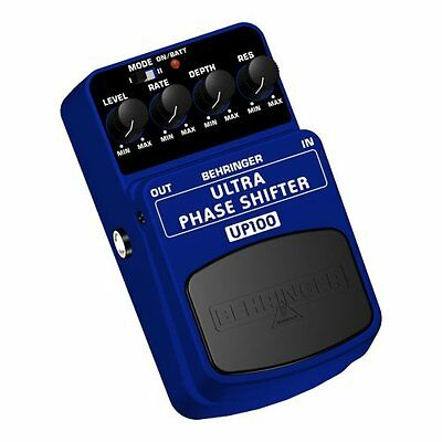 BEHRINGER UP100 ULTRA PHASE SHIFTER Effetto a pedale per Chitarra