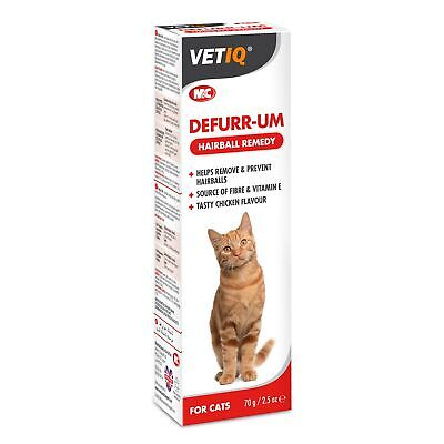 Mark & Chappell Defurr-UM Plus Furball Protector for Cats 70g Hairball Remedy