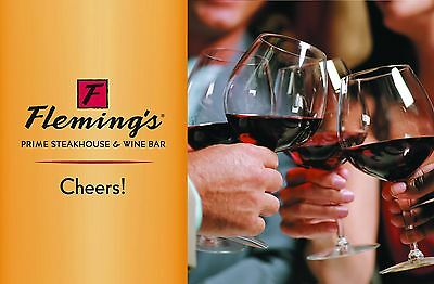 Fleming's Gift Card $25 - $50