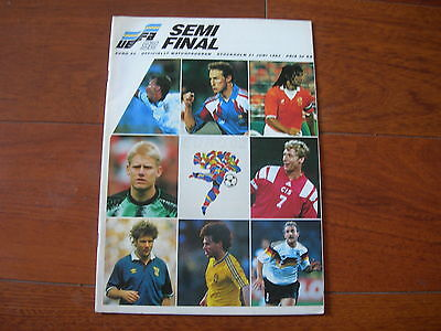 EURO 1992 SEMI FINAL SWEDEN v GERMANY