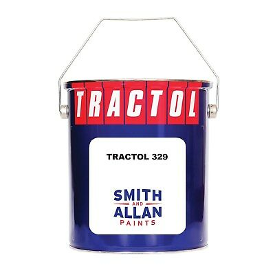 RAL & BS Range Colours Tractol 329 Synthetic Enamel Paint 5 Litre 5L