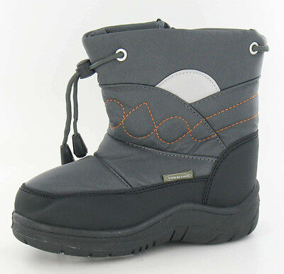 Joblot Wholesale Boys Snow Boots Junior Sizes Euro 31-35 x15 pairs 8.561801AFV4