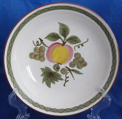 STANGL SOUP BOWL 7 5/8 INCH APPLE DELIGHT