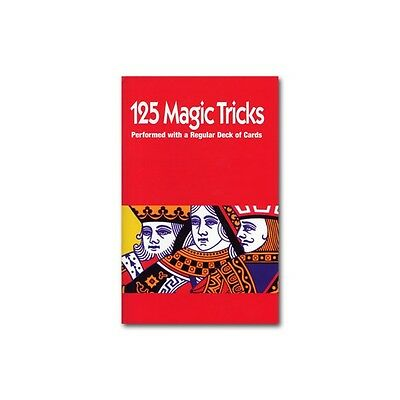 125 Magic Tricks Performed With A Regular Deck Of Cards Book - Book Only