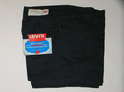 VTG New Old Stock Levis Nuvo Flares Pants 26 x 34