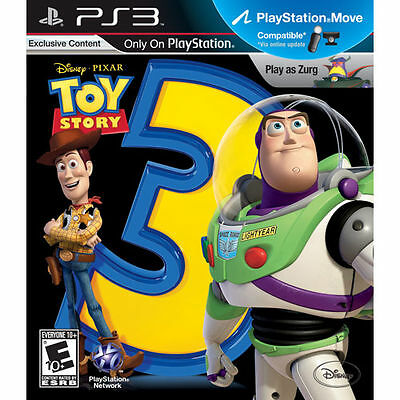 NEW Disney Toy Story 3: The Video Game Pixar Sony Playstation 3 ps3 game