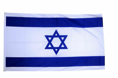HUGE 8ft x 5ft Israel Flag Massive Giant Star of David Israeli Flags