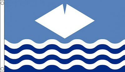 3' x 2' Isle of Wight Flag IOW English County Flags Banner