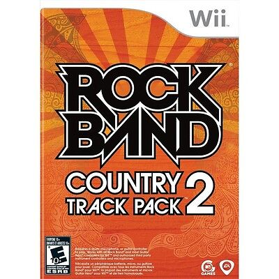 Rock Band Country Track Pack 2 Nintendo Wii NEW SEALED