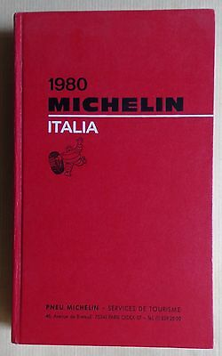 #) guide MICHELIN rouge ITALIE 1980