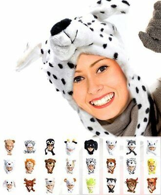 Hat-imals' Plush Animal Winter Hats - Set 1 (HATCW)