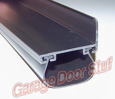 "Garage Door Weather Seal COMPLETE KIT Bottom Seal SINGLE Car Door 2"" DOORS"