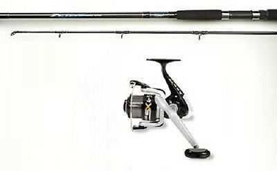 Shakespeare Zeta Spinning Rod and SX Reel With Line Combo