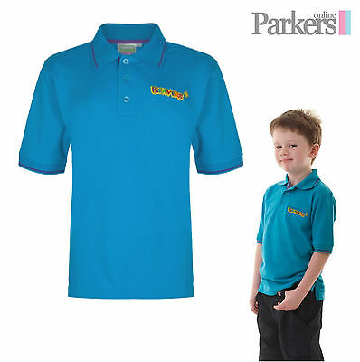 "Brand New Boys Beavers Polo Top Shirt Beavers Official Uniform Size 24"" - 32"""