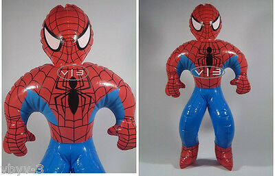 """SPIDERMAN Superhero Marvel Doll INFLATABLE Toys Blow Up Party Favor Decor 24"""""""