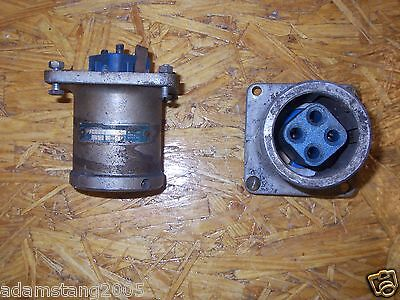 Crouse Hinds Ar644 M54 Pin And & Sleeve Receptacle Body 60Amp 3 Wire 4 Pin