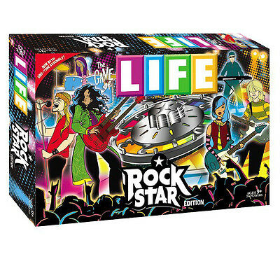 New Sealed The Game Of Life Rock Star Edition Hasbro Usaopoly Family Party Board