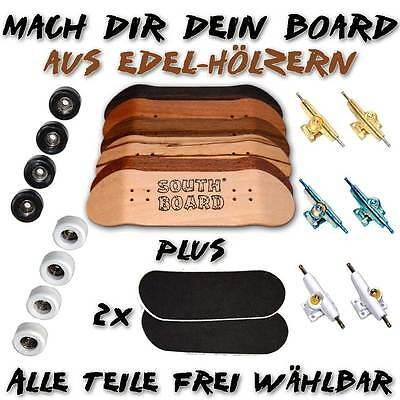 EDEL Fingerboard aus Holz,  SET von SOUTHBOARDS® Handmade Wood Fingerskateboard