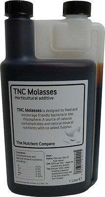 TNC Molasses - Hydroponic/Horticultural Plant additive