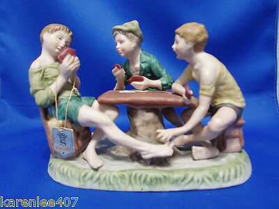 Cheaters Vintage Capodimonte by SAXONY  FIGURINE RARE!
