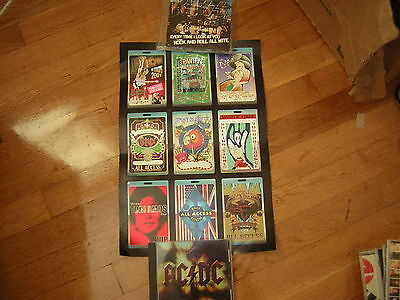 Perri Backstage Pass Poster  Inhouse Ac/dc Ozzfest