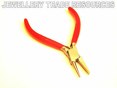 Flat & Round Nose Jewellers Jewellery Making Plier Pliers Smooth Beading